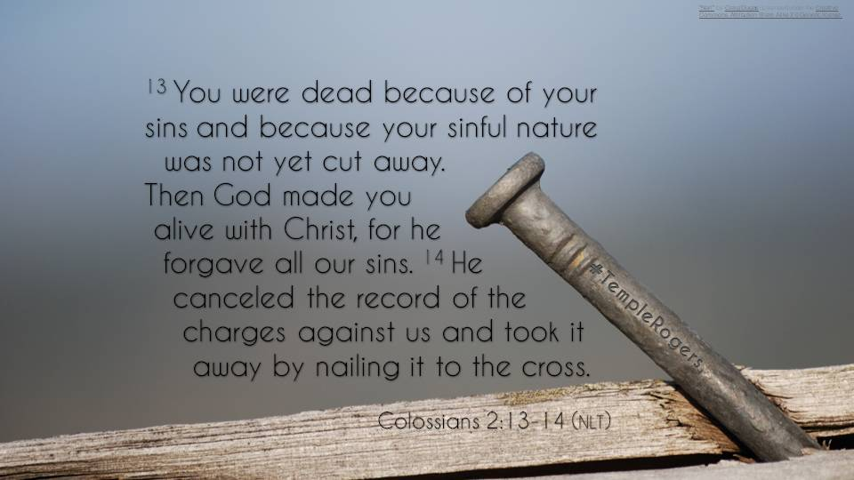 1.4 – Nail to the Cross – Temple Baptist Church of Rogers, AR